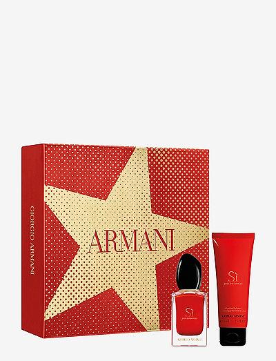 Giorgio Armani Si Passione Christmas Set 30ml - tuoksusetit - no colour