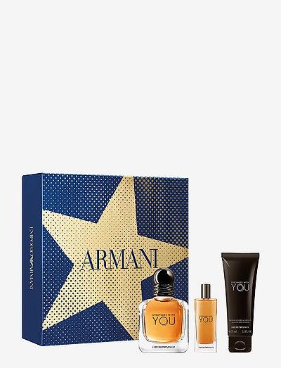 Emporio Armani Stronger With You 50 ml Gift box - NO COLOUR