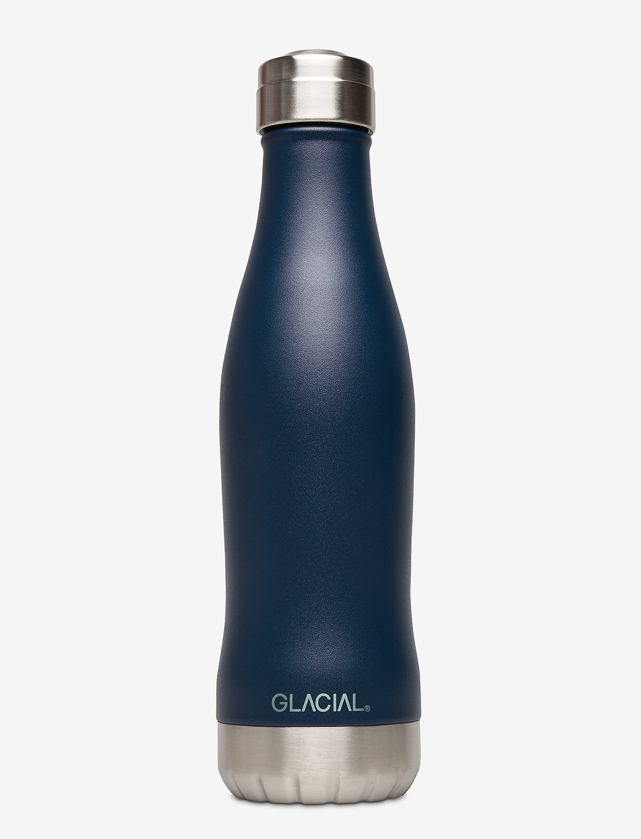 GLACIAL - Matte Navy 400ml - vannflasker og termoser - navy - 0