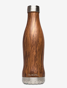 Teak Wood 600ml - water bottles & thermoses - teak wood