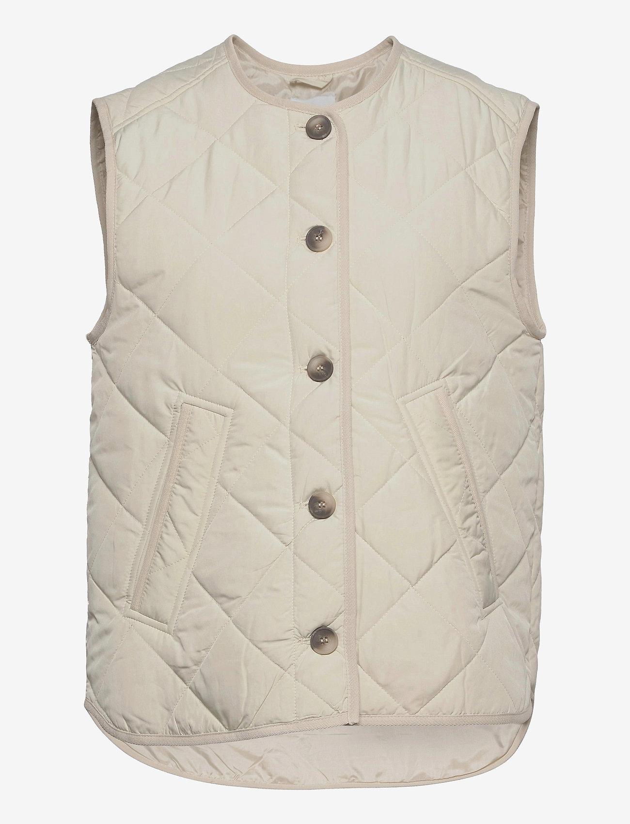 Global Funk - Feeney - puffer vests - ivory - 0
