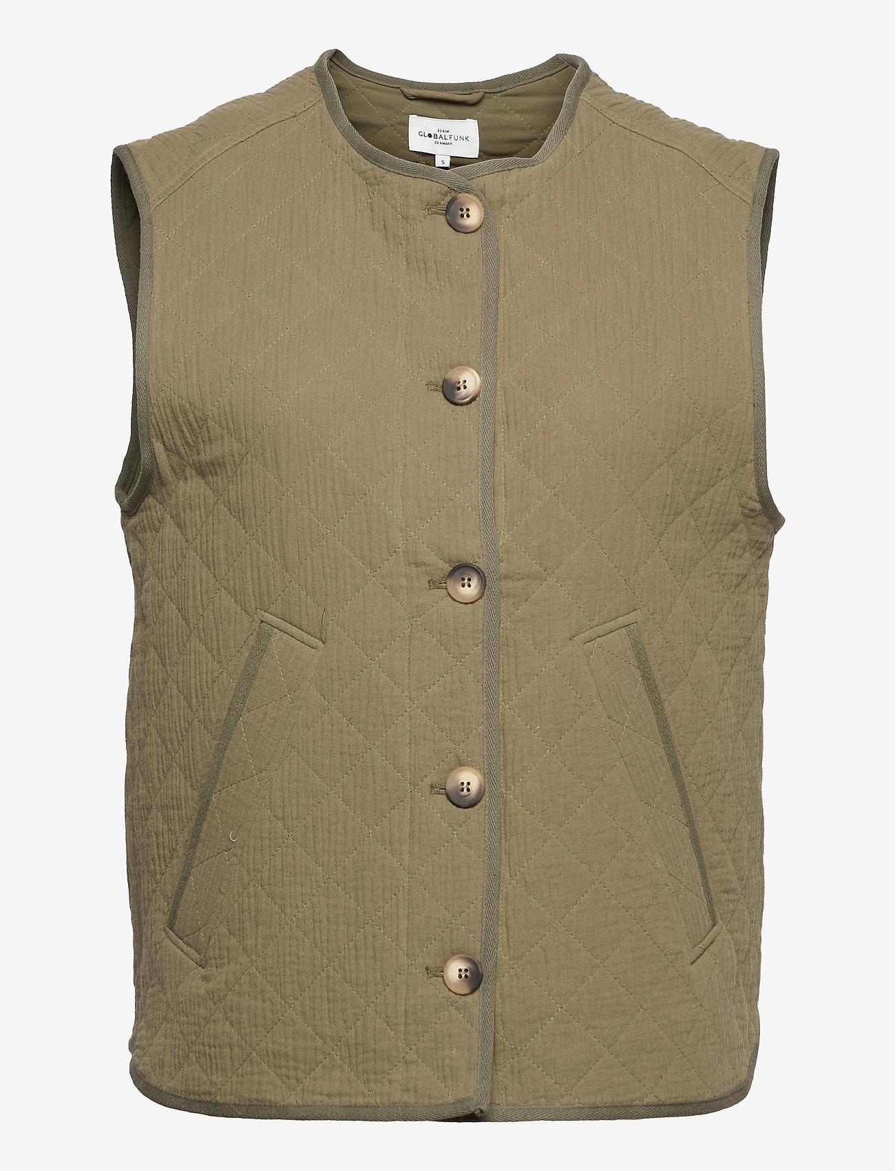 Global Funk - Feeney - puffer vests - army - 0
