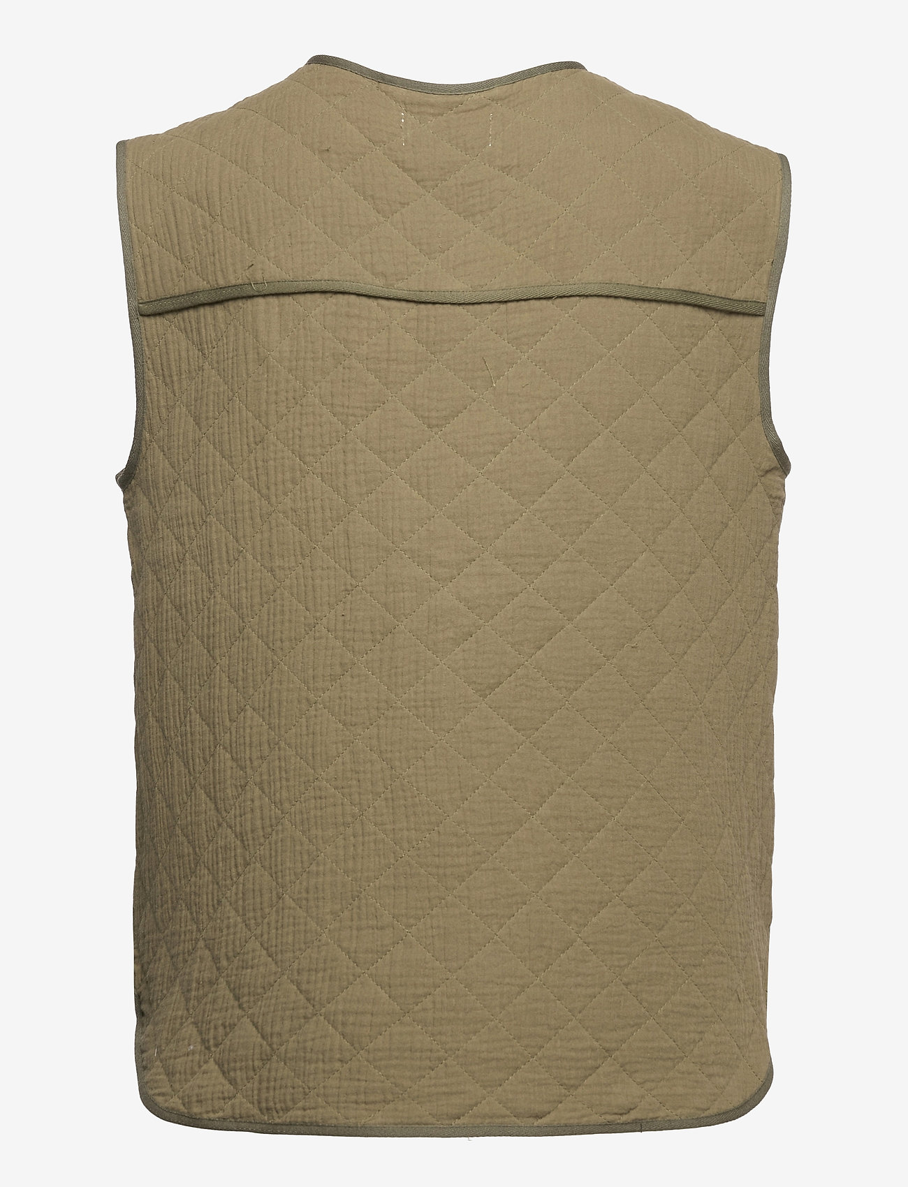 Global Funk - Feeney - puffer vests - army - 1