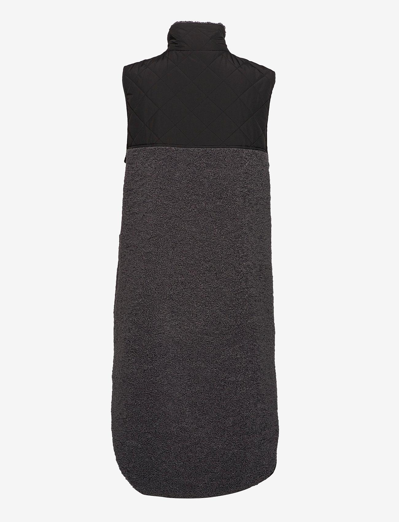 Global Funk - Raima - knitted vests - grey black mix - 1