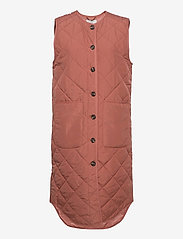 Global Funk - Kaison - puffer vests - canyon rose - 0