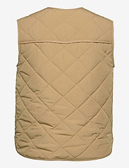Global Funk - Feeney - puffer vests - dark sand - 1