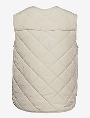 Global Funk - Feeney - puffer vests - ivory - 1