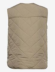 Global Funk - Feeney - puffer vests - khaki dust - 1