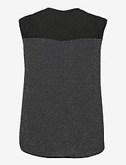 Global Funk - Vinson - knitted vests - grey black mix - 1