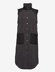 Global Funk - Raima - knitted vests - grey black mix - 0