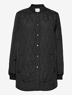 Even - quilted jackets - black