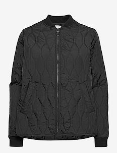 Rheanna - quilted jackets - black