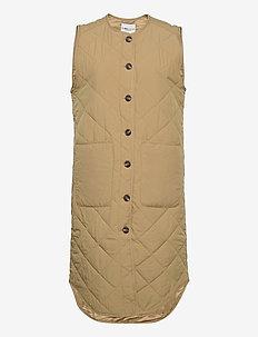 Kaison - puffer vests - dark sand