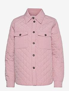 Maira - quilted jackets - bubblegum