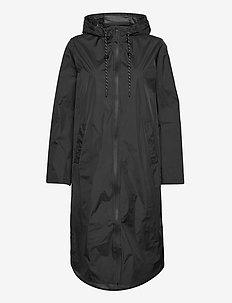 Kasey - rain coats - black
