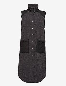 Raima - vestes tricot - grey black mix