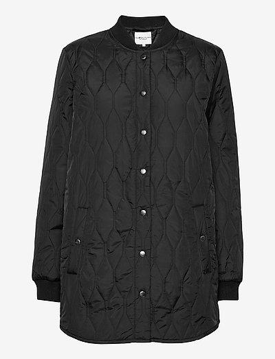 Even - vestes matelassées - black