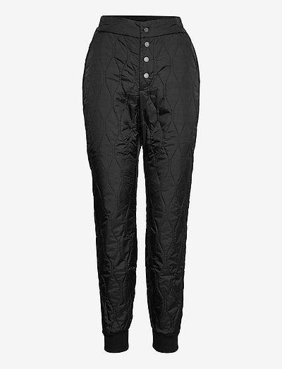 Santiago - pantalons casual - black