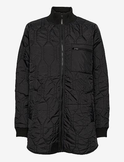 Sarina - vestes matelassées - black
