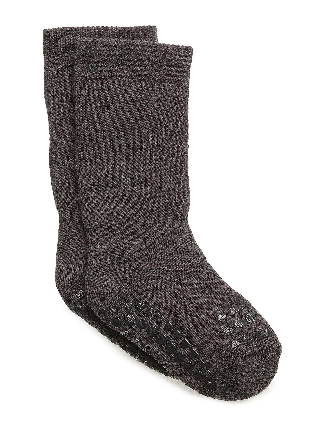 GoBabyGo Socks - DARK GREY MéLANGE