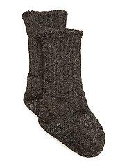 Alpaca Socks - DARK GREY MéLANGE