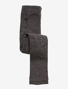 Leggings - tights - dark grey mélange