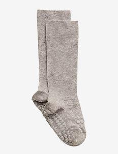 Bamboo Socks - socks - grey melange