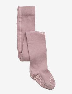Crawling Tights - non-slip socks - dusty rose