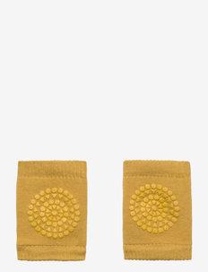 Kneepads - sokker med anti-skli - mustard