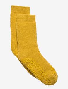 Socks - sokker med anti-skli - mustard