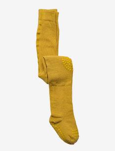 Tights - strømpebukser - mustard