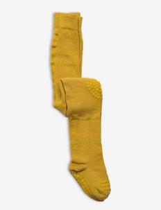 Tights - strumpfhosen - mustard