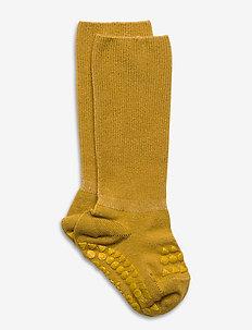 Bamboo Socks - sokker med anti-skli - mustard