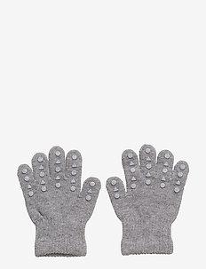 Grip Gloves - gloves - grey melange