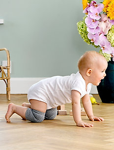Crawling Kneepads - non-slip socks - dusty rose