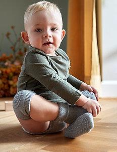 Non-slip socks - non-slip socks - grey melange
