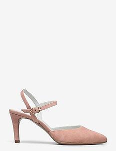 25001 - sling backs - revecurt suede rosa