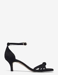 25340 - sandalen mit absatz - rubio suede negro