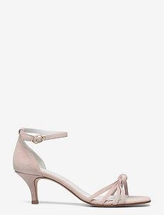 25340 - sandalen mit absatz - rubio suede nude