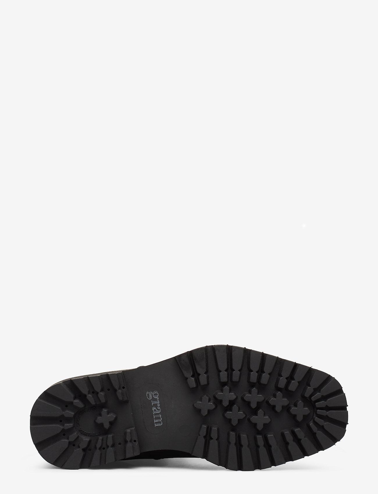 414g Black Oiled Nubuck (Black) - Gram