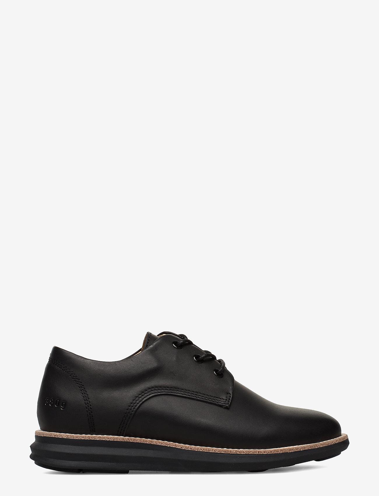 Gram - 380g WA black leather - buty sznurowane - black - 1