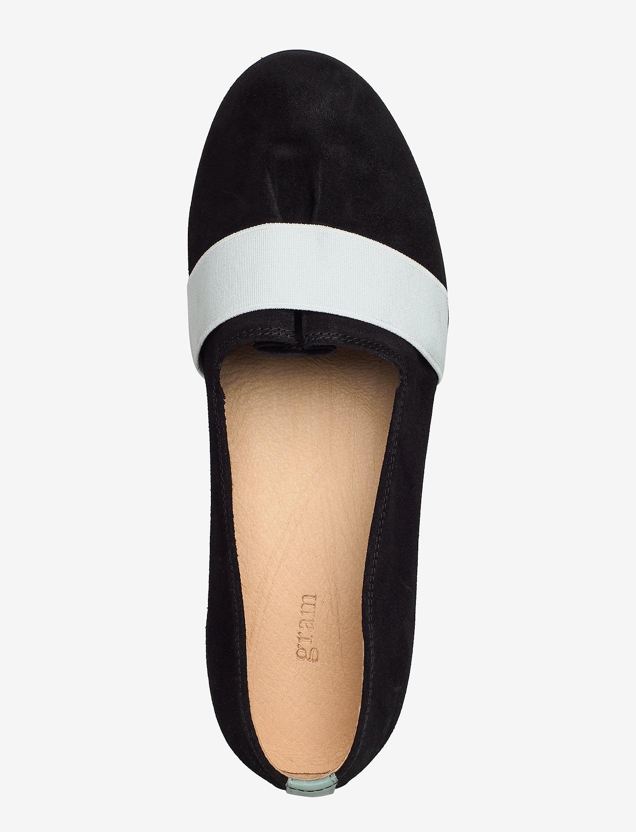 Yatfai Ballerina Black Suede (Black) - Gram
