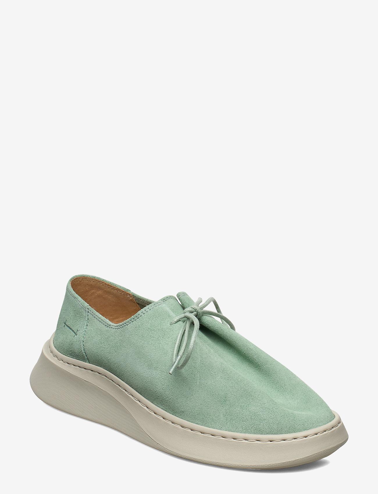 Gram - yatfai sneaker niente menthe - buty sznurowane - niente menthe - 0