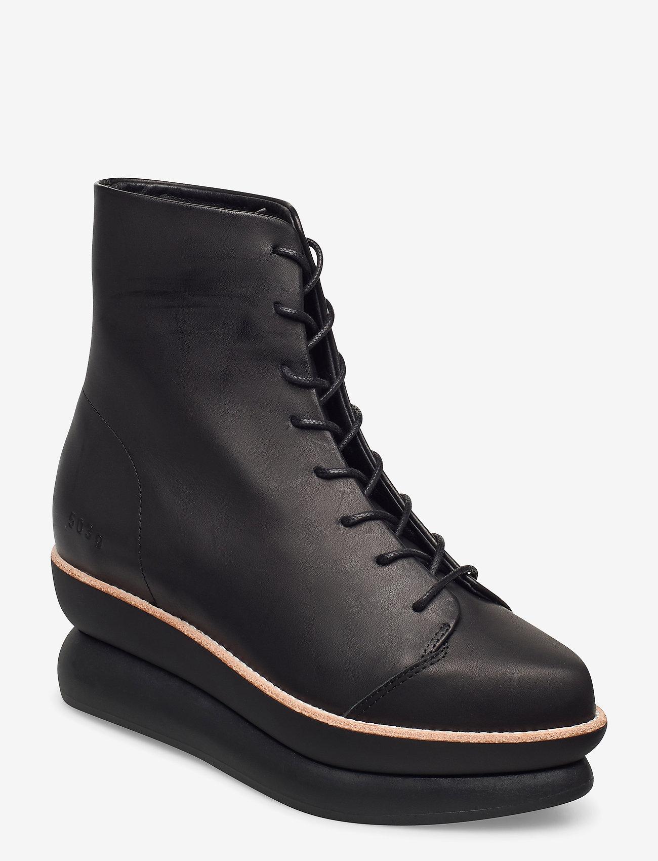 Särskild rabatt503g Lace-up Black Leather Black Leather 1871.25 Gram kLU6w gmalI
