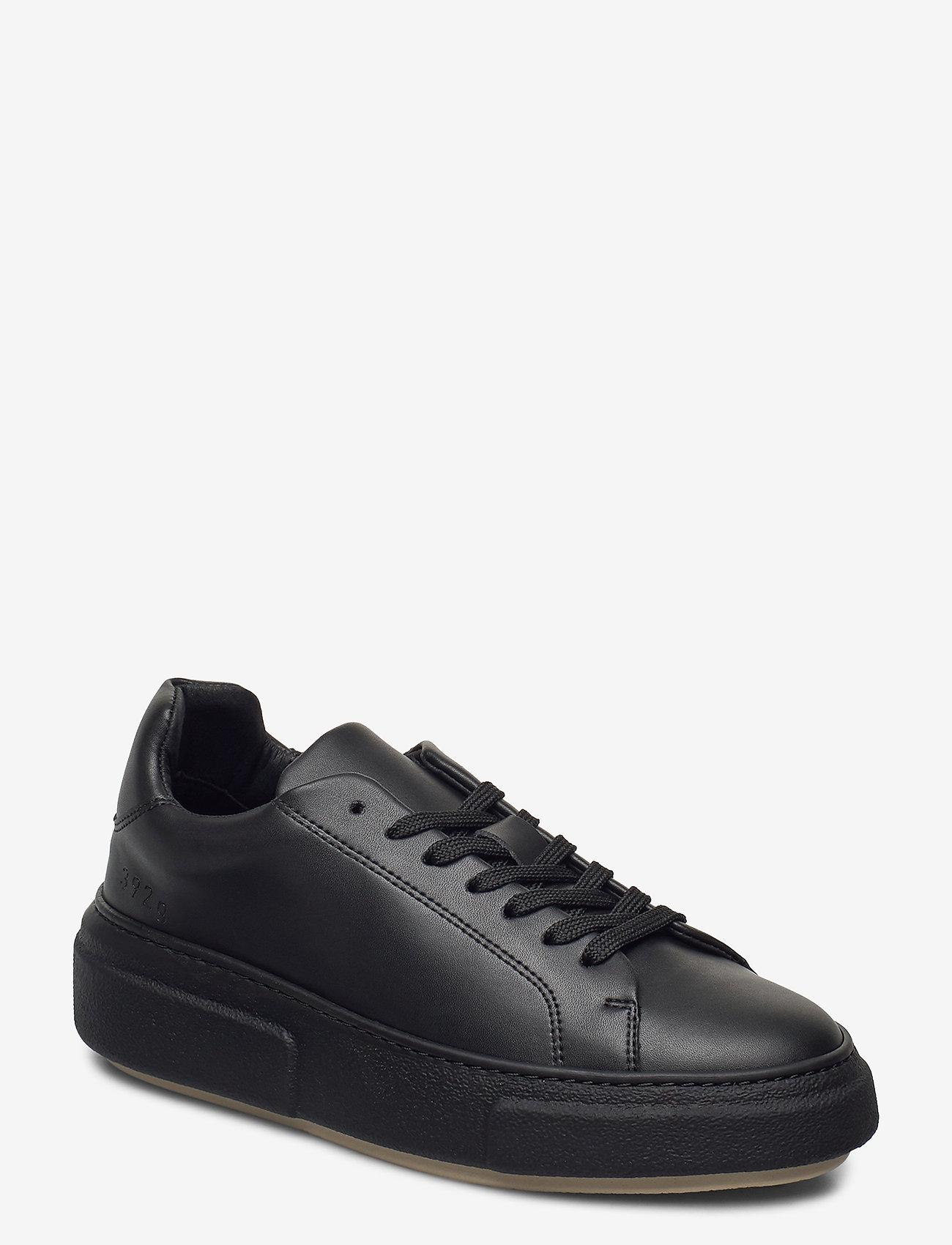 Gram - 392g black vegan leather - låga sneakers - black vegan leather - 0