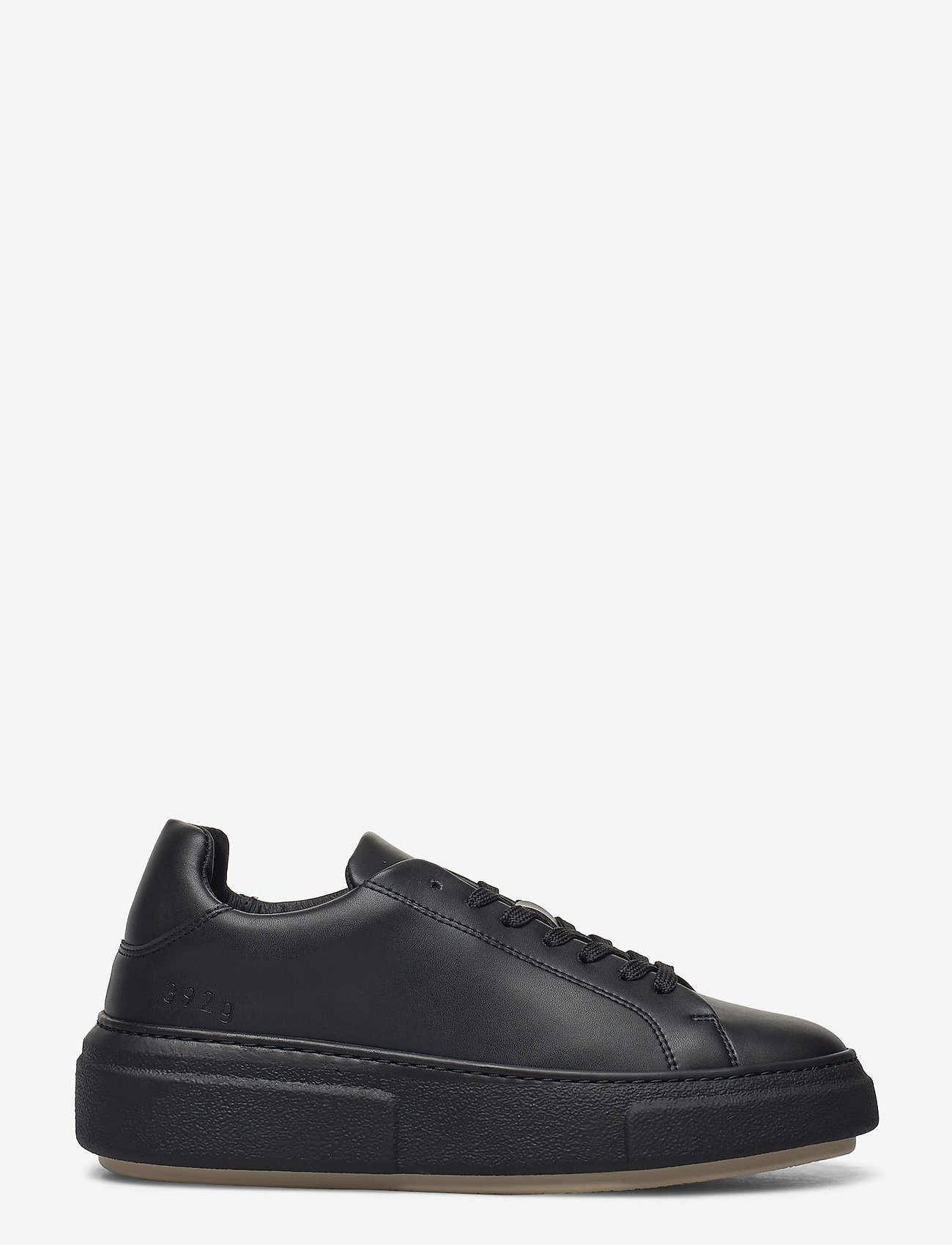 Gram - 392g black vegan leather - låga sneakers - black vegan leather - 1