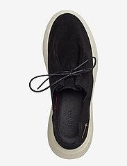 Gram - yatfai sneaker black suede - buty sznurowane - black - 3