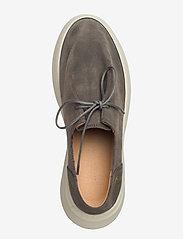 Gram - yatfai sneaker sage suede - buty sznurowane - sage - 3