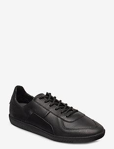 435g black leather - BLACK LEATHER