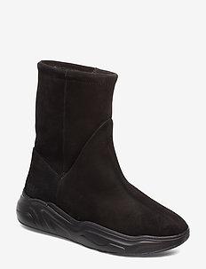 558g boot black suede - BLACK